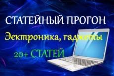 Статейный прогон по 30 сайтам + Бонус 23 - kwork.ru
