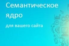 Семантическое ядро до 700 ключей, + расчет конкурентности в выдаче KEY 21 - kwork.ru