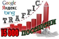 17 000 уникальных посетителей на сайт с поисковых систем за 24 часа 8 - kwork.ru