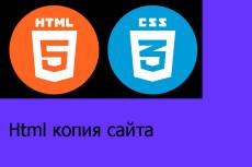 Сделаю копию любого сайта-визитки в html 19 - kwork.ru