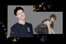 Создам цифровой портрет по вашей фотографии. Стиль Cartoon oil paint 68 - kwork.ru