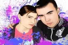 Нарисую портрет в векторе 28 - kwork.ru