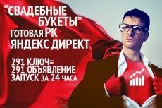 Безанкорный прогон с мини статьей 6 - kwork.ru