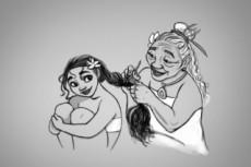Быстро сделаю аниме арт, концепт арт на любого персонажа 29 - kwork.ru