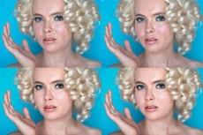 Изменю цвет волос на фотографии 4 - kwork.ru