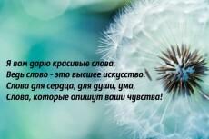 пишу стихи 6 - kwork.ru