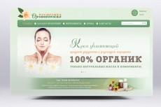 Продающая шапка для Вашего сайта или лендинга 21 - kwork.ru
