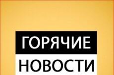 Новостник, автор новостных заметок 7 - kwork.ru