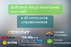 Размещу объявление по нужному вам городу, стране 80 досок объявлений 15 - kwork.ru