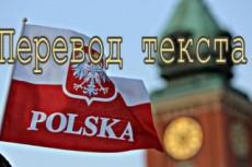 Переведу с польского 19 - kwork.ru