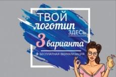 Три варианта логотипа 20 - kwork.ru