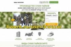 Продам сайт landing page по разработке сайтов 26 - kwork.ru