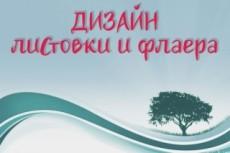 Дизайн буклета, листовки, флаера 14 - kwork.ru