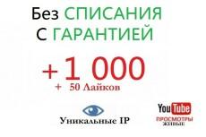 +2000 Просмотров в YouTube 23 - kwork.ru