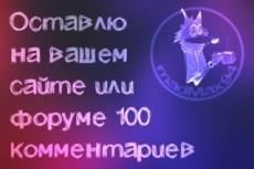 Напишу 100 комментов на ваш сайт или форум с 10 разных акков 23 - kwork.ru