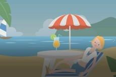 Сделаю для вас поздравительную открытку в технике doodle - видео 30 - kwork.ru