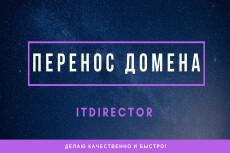 Настрою редирект сайта на другой домен с сохранением url 14 - kwork.ru