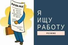 Поможем составить правильное резюме 13 - kwork.ru