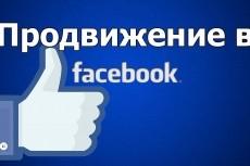 1000 новых участников в группу Facebook по критериям 16 - kwork.ru