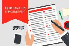 Предоставлю в кратчайшие сроки актуальную выписку из егрюл с ЭЦП 22 - kwork.ru