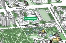 Карта проезда до офиса компании 18 - kwork.ru