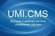 Доработка на UMI CMS 4 - kwork.ru