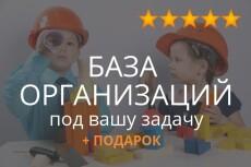 База данных компаний Краснодара 33065 контактов 9 - kwork.ru