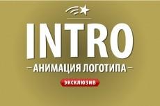 создам видеозаставку 4 - kwork.ru