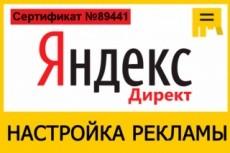 Сделаю и настрою рекламную кампанию в Яндекс.Директ 12 - kwork.ru