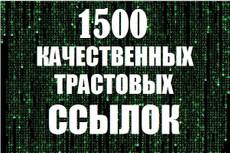 17 вечных ссылок с трастовых сайтов. Высокий тиц показатель 11 - kwork.ru