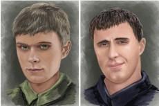 быстро и красиво нарисую портрет по фото 8 - kwork.ru