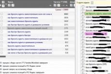 Семантическое ядро до 400 запросов с группировкой 7 - kwork.ru
