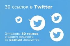 Добавлю ваш твит в Избранное в 40 разных аккаунтов 4 - kwork.ru