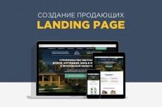 Сделаю красивый Landing Page, рекламный сайт, визитку 3 - kwork.ru
