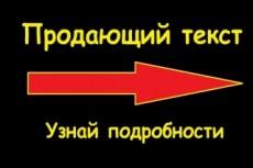 Напишу качественный текст 3 - kwork.ru
