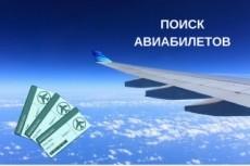 Найду вам авиабилеты на 10-40% дешевле, чем вы летаете обычно 3 - kwork.ru