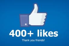 1000 лайков в Facebook живыми людьми 15 - kwork.ru