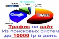 Выведу сайт по ключевым запросам в топ Яндекса Гугла 5 - kwork.ru