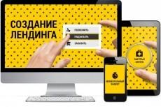 Сделаю Одностраничный Лендинг 19 - kwork.ru