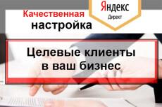 Профессиональная настройка Яндекс Директ. Гарантии при заказе под ключ 17 - kwork.ru