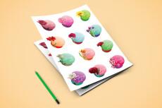 Разработаю дизайн страниц для блокнотов и ежедневников 24 - kwork.ru
