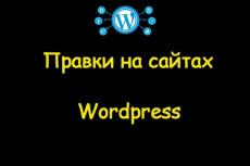 Wordpress установка, настройка, правки 10 - kwork.ru
