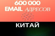 База проверенных e-mail адресов Франции - 700000 контактов 19 - kwork.ru
