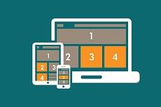 Создание адаптивного веб-дизайна сайта 11 - kwork.ru