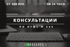 сверстаю Ваш psd-макет 5 - kwork.ru