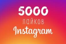 100000 лайков на Ваши публикации в Инстаграм. Вывод в топ по хэштегам 14 - kwork.ru