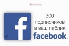 Раскрутка Facebook - 600 вечных русскоговорящих подписчиков 12 - kwork.ru