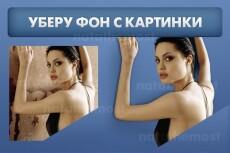Уберу фон из фотографии 21 - kwork.ru