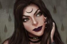Нарисую цифровой портрет, персонажа 25 - kwork.ru