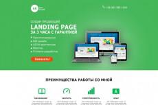 Уникальный Landing Page, адаптированный под мобильные, планшеты и ПК 13 - kwork.ru